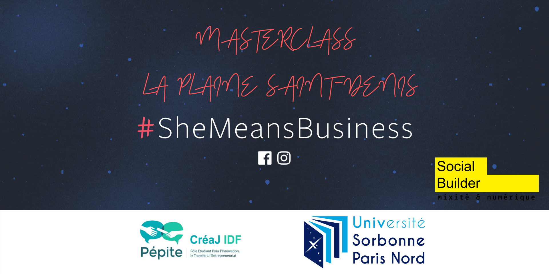 Bannière - #SheMeansBusiness