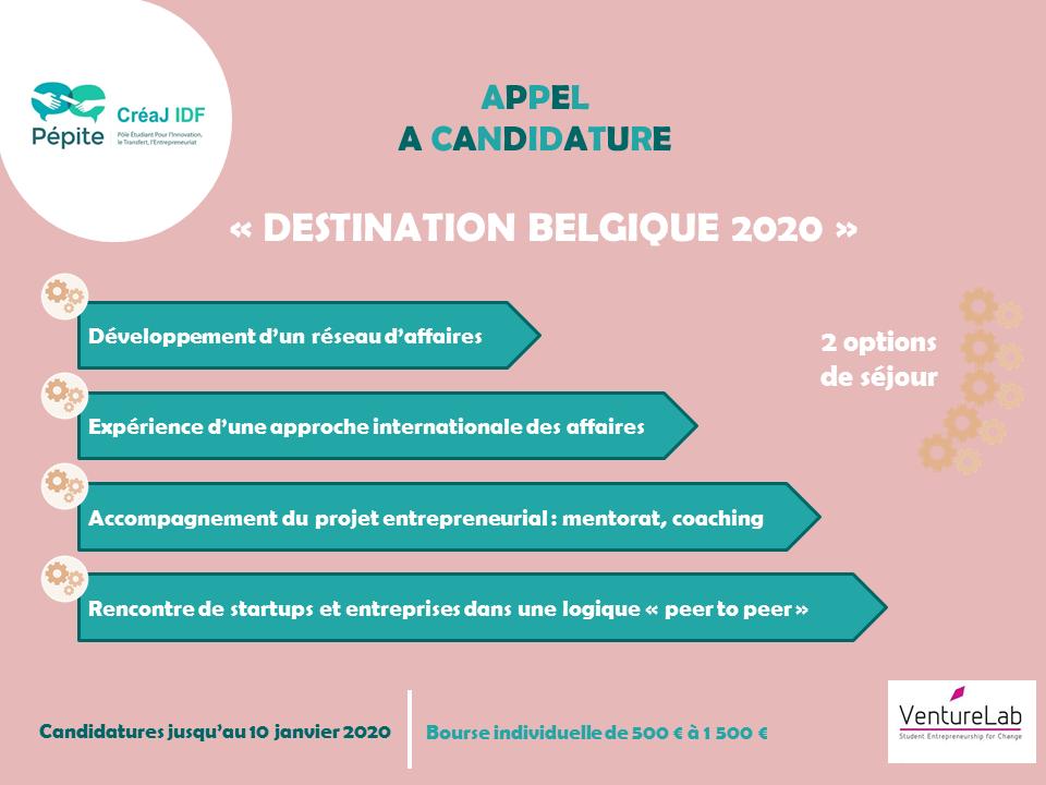 Destination Bélgique 2020