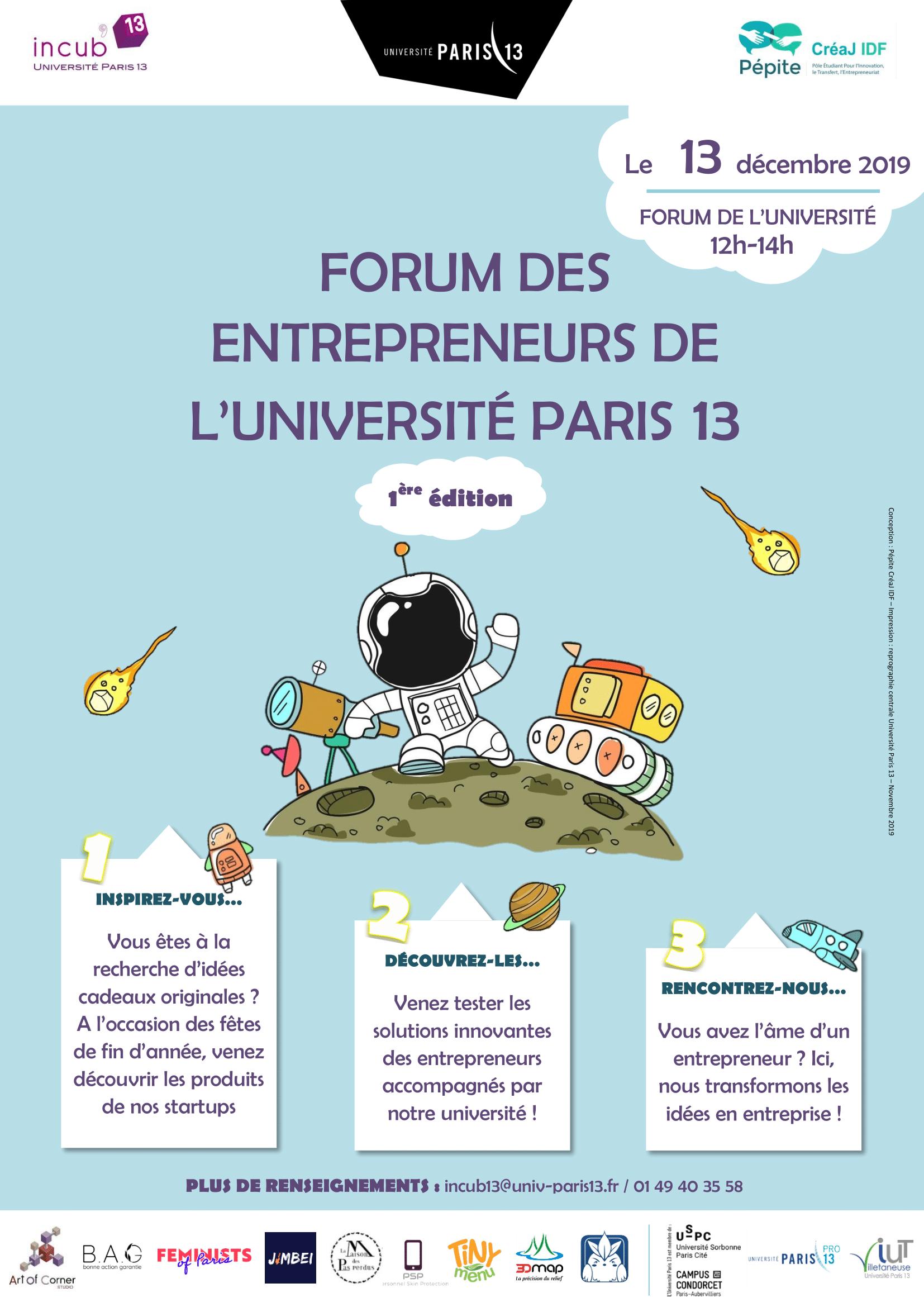 Forum des entrepreneurs 2019 - Portrait + texte